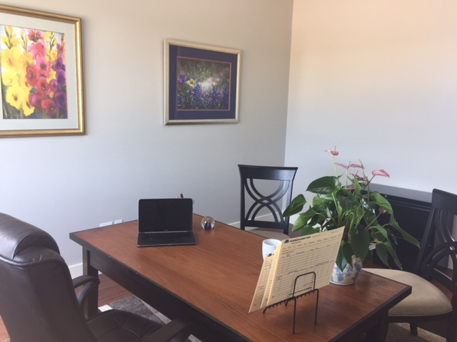 interior office image for luci temple insurance agency